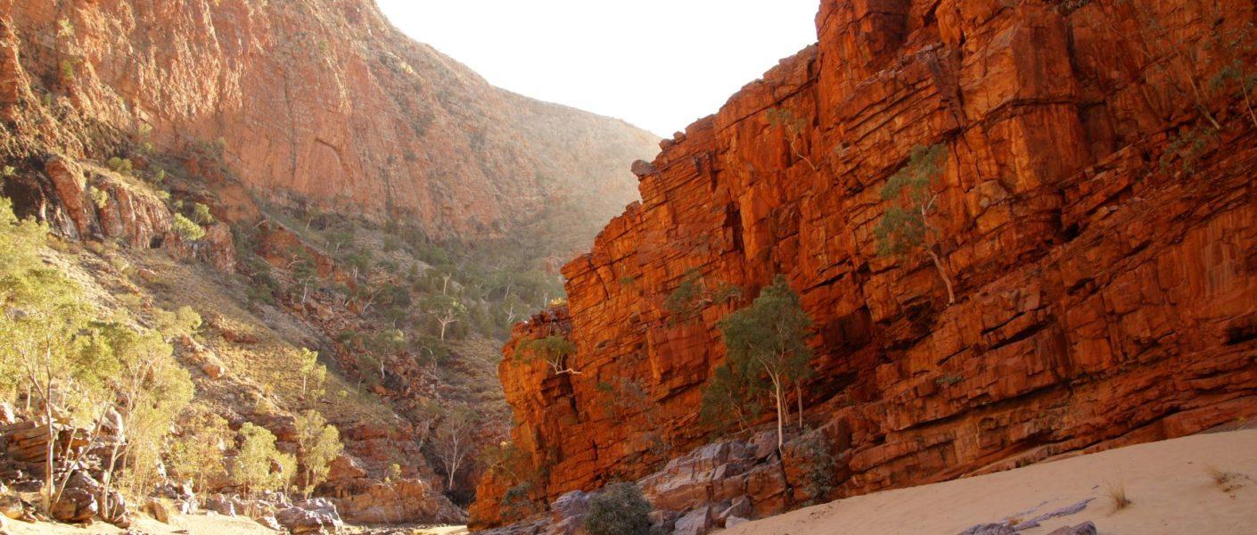 Road trip Centre rouge outback australien