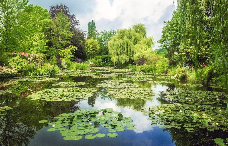 Jardins de Claude MONET GIVERNY tourisme VAL D OISE