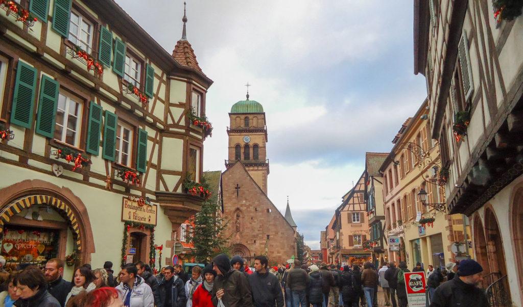 Kaysersberg étape de notre circuit route des vins d'Alsace
