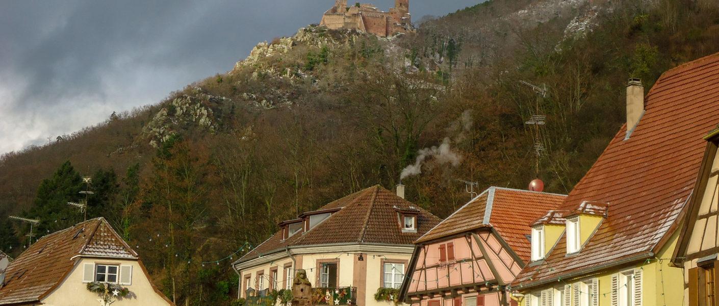 Circuit touristique sur la route des vins Alsace