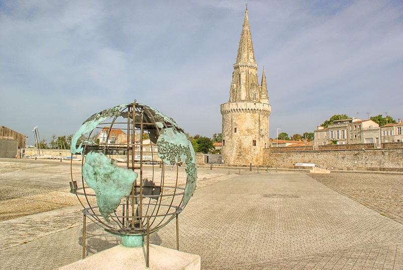 Etape sur mon circuit de visite de La Rochelle à pied : la tour de la Lanterne