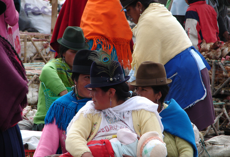 Tourisme responsable en Equateur - Marché alimentaire