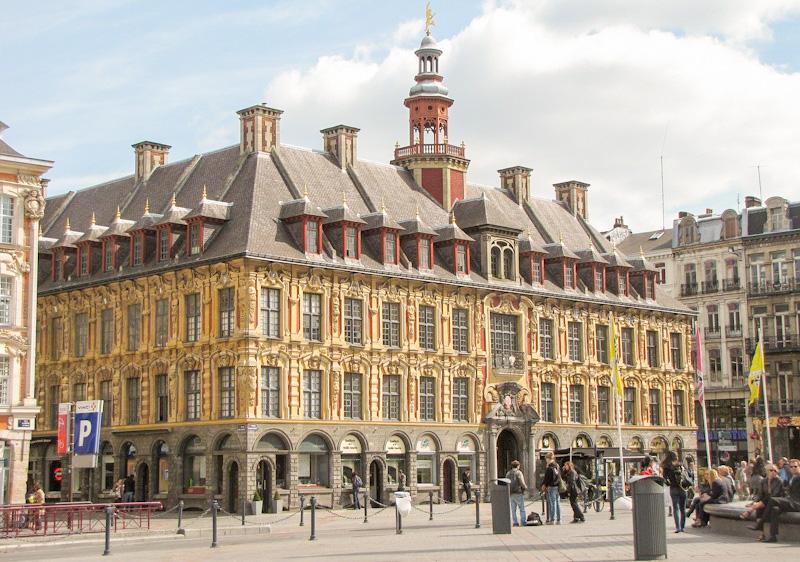 Que voir à Lille en 1 jour : l'ancienne BOURSE