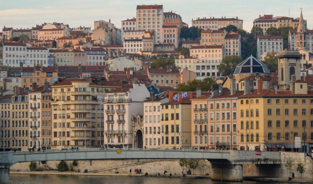 Week-end à Lyon - Circuit à pied visite Lyon en 2 jours et carte de l'itinéraire