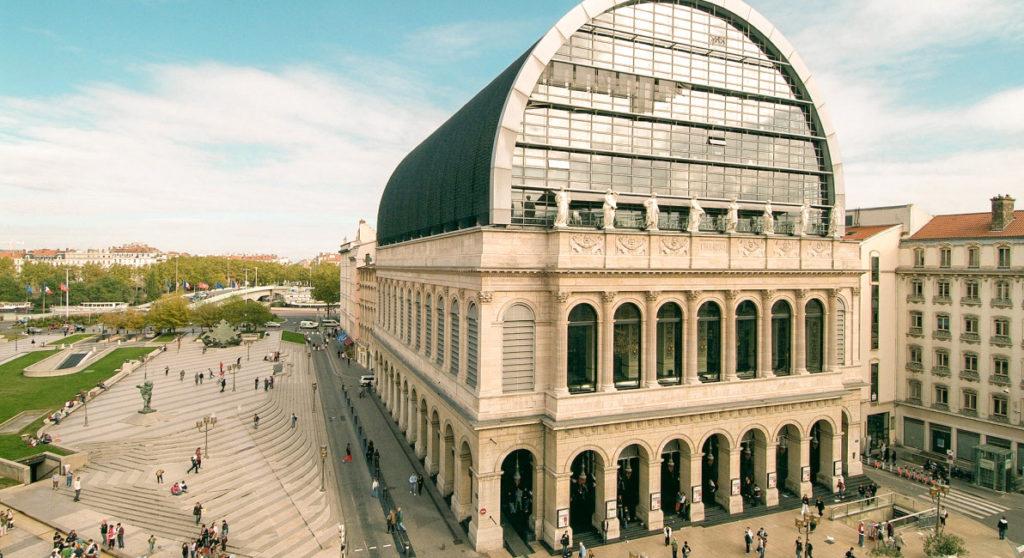 Itinéraire Lyon à pied - Mon circuit avec l'Opéra