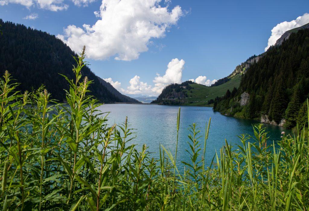 Lac de Saint Guérin étape de mon circuit Les Alpes en 1 semaine