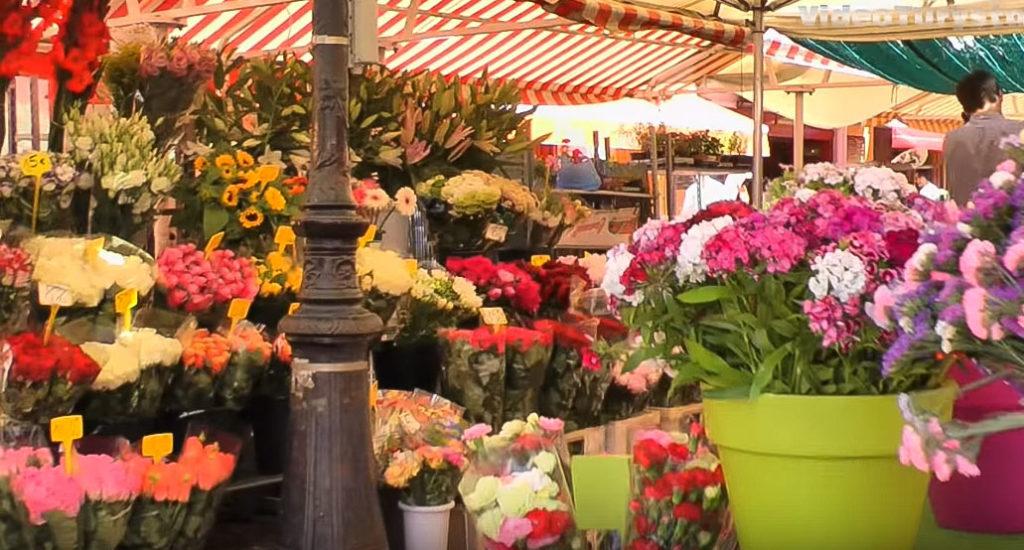 Choisir Nice pour son séjour en Provence et aller au marché aux fleurs