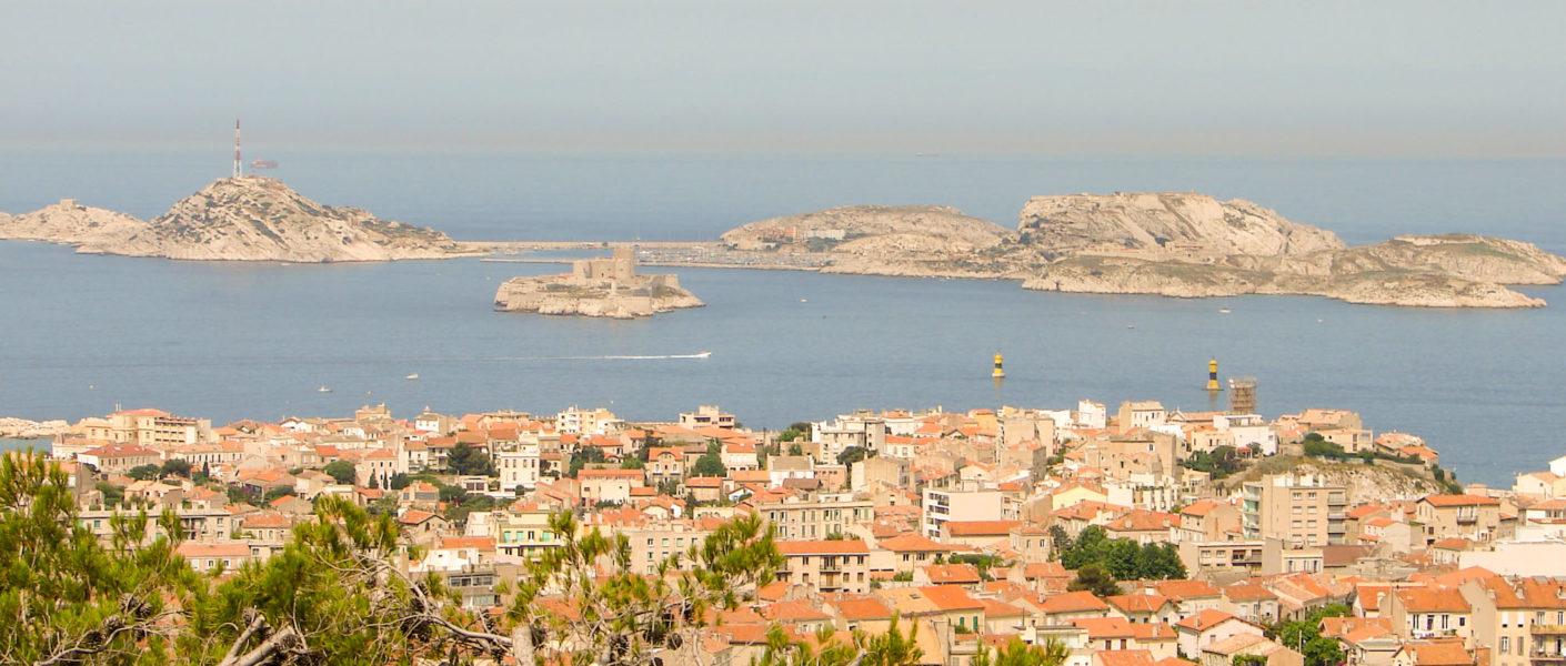 Marseille en 1 jour - Circuit à pied avec carte et itinéraire des incontournables de la cité phocéenne