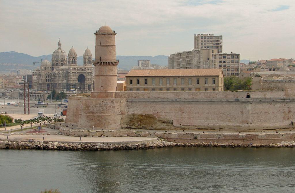 Fort Saint Jean pour mon circuit marseille en 1 jour