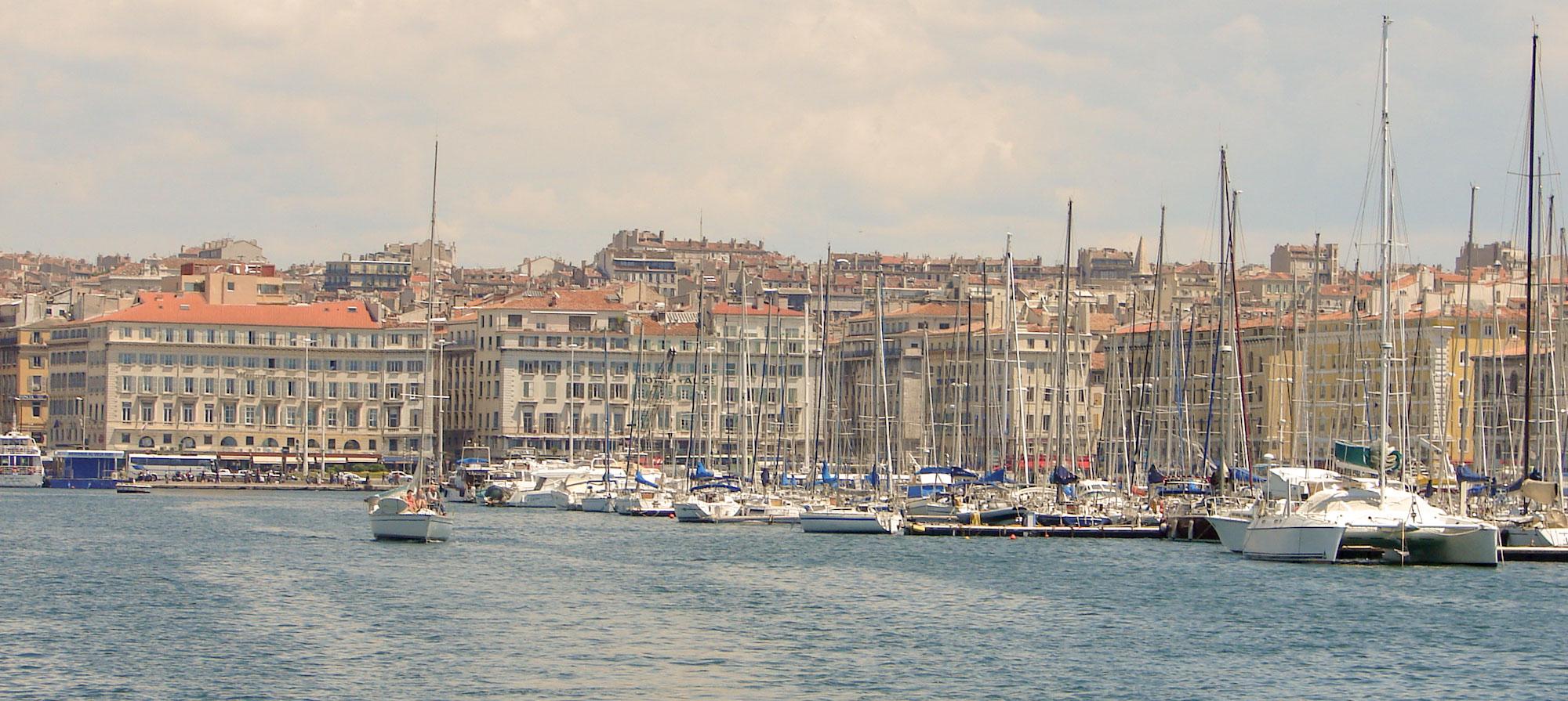 Quartier du vieux port meilleur quartier hotel Marseille