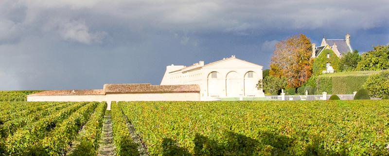 Sur la route des vins de Bordeaux le Château Mouton Rothschild