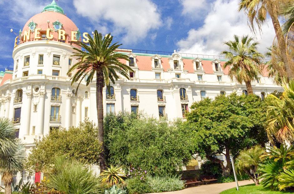 Meilleur hôtel acceptant les chiens à Nice - Palace negresco