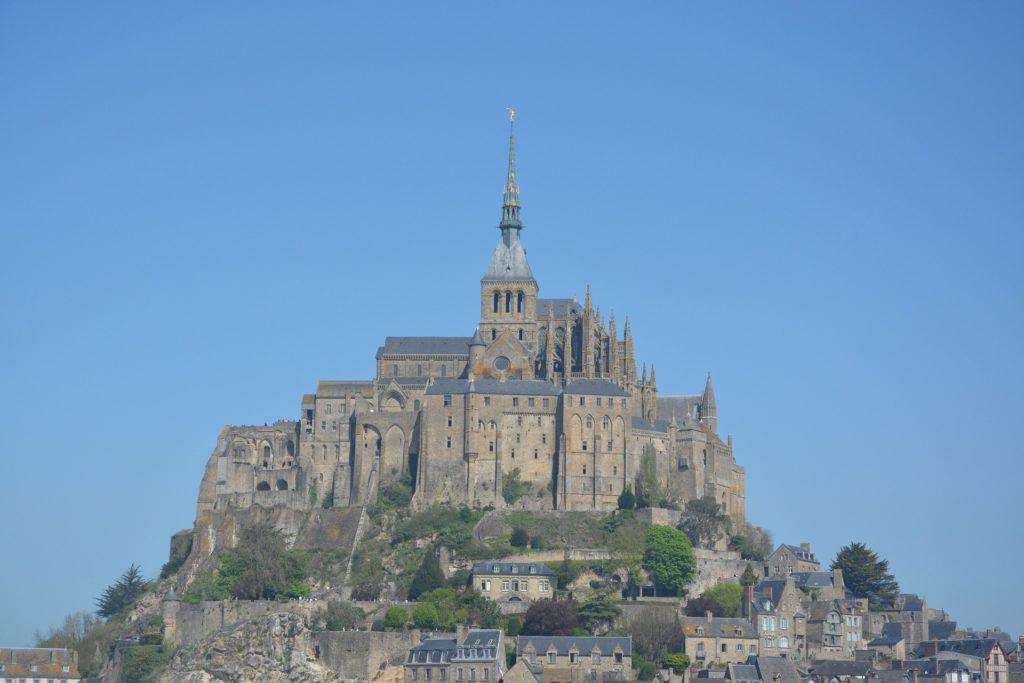 Mont Saint Michel en Normandía y