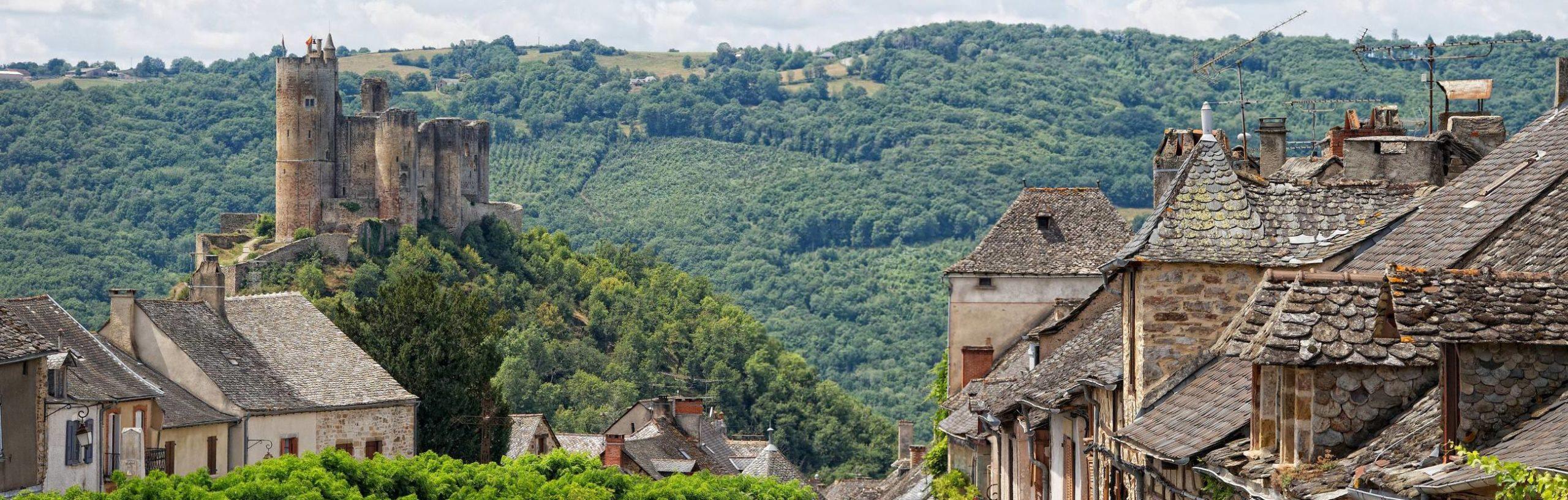 NAJAC un des plus beaux villages d'Aveyron