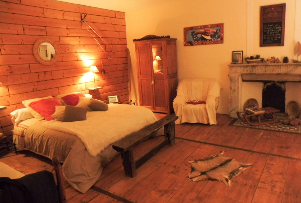 2 jours en Dordogne notre chambre