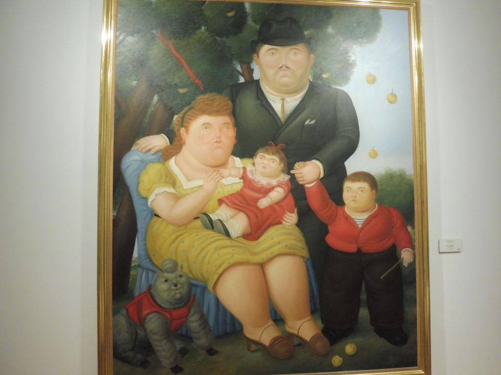 FAMILLE BOTERO - VISITE BOGOTA