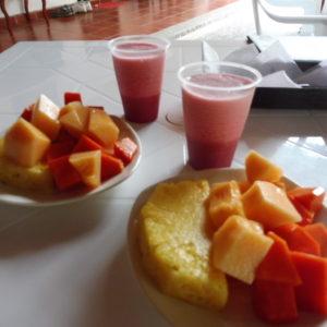HOTEL PAS CHER DESERT TATACOA - petit déjeuner
