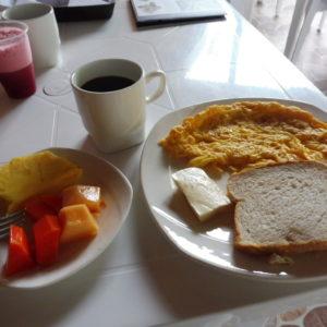 HOTEL PAS CHER DESERT TATACOA - petit déjeuner suite