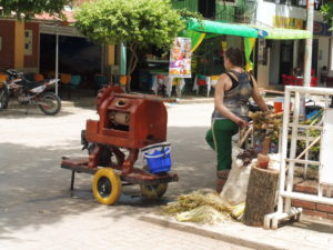Dans les rues de Villavieja près du désert de Tatacoa