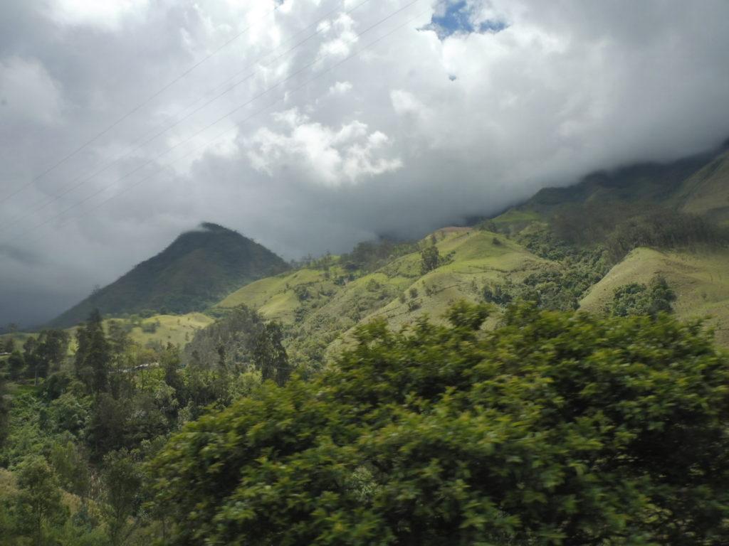 trajet vers armenia