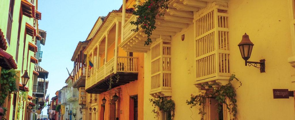 dans les rues de Carthagène