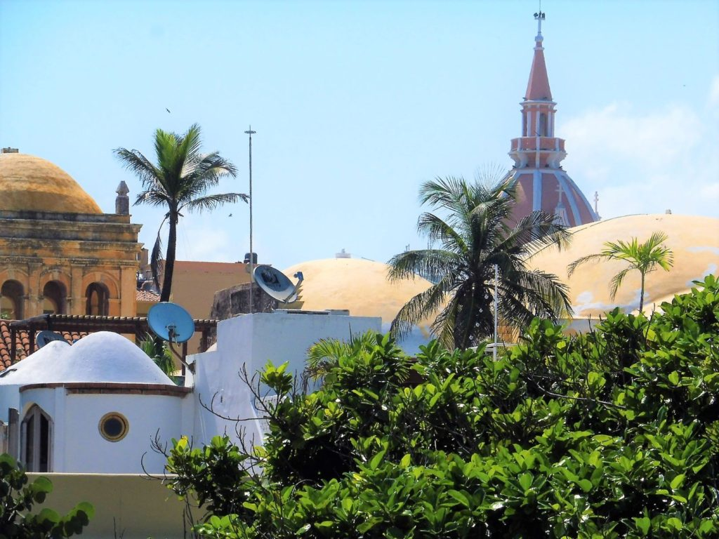 Les toits de Carthagène