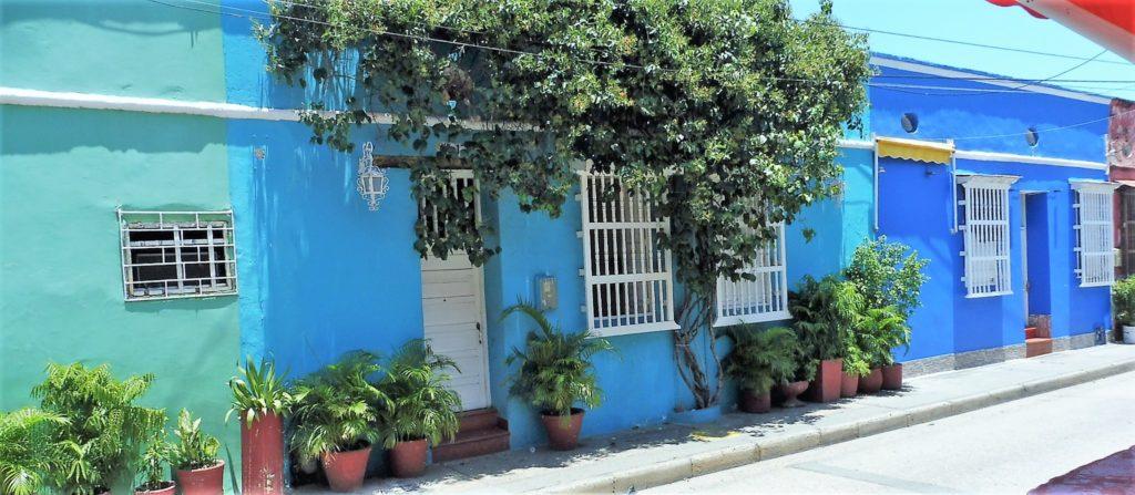 couleurs dans les rues de Carthagène