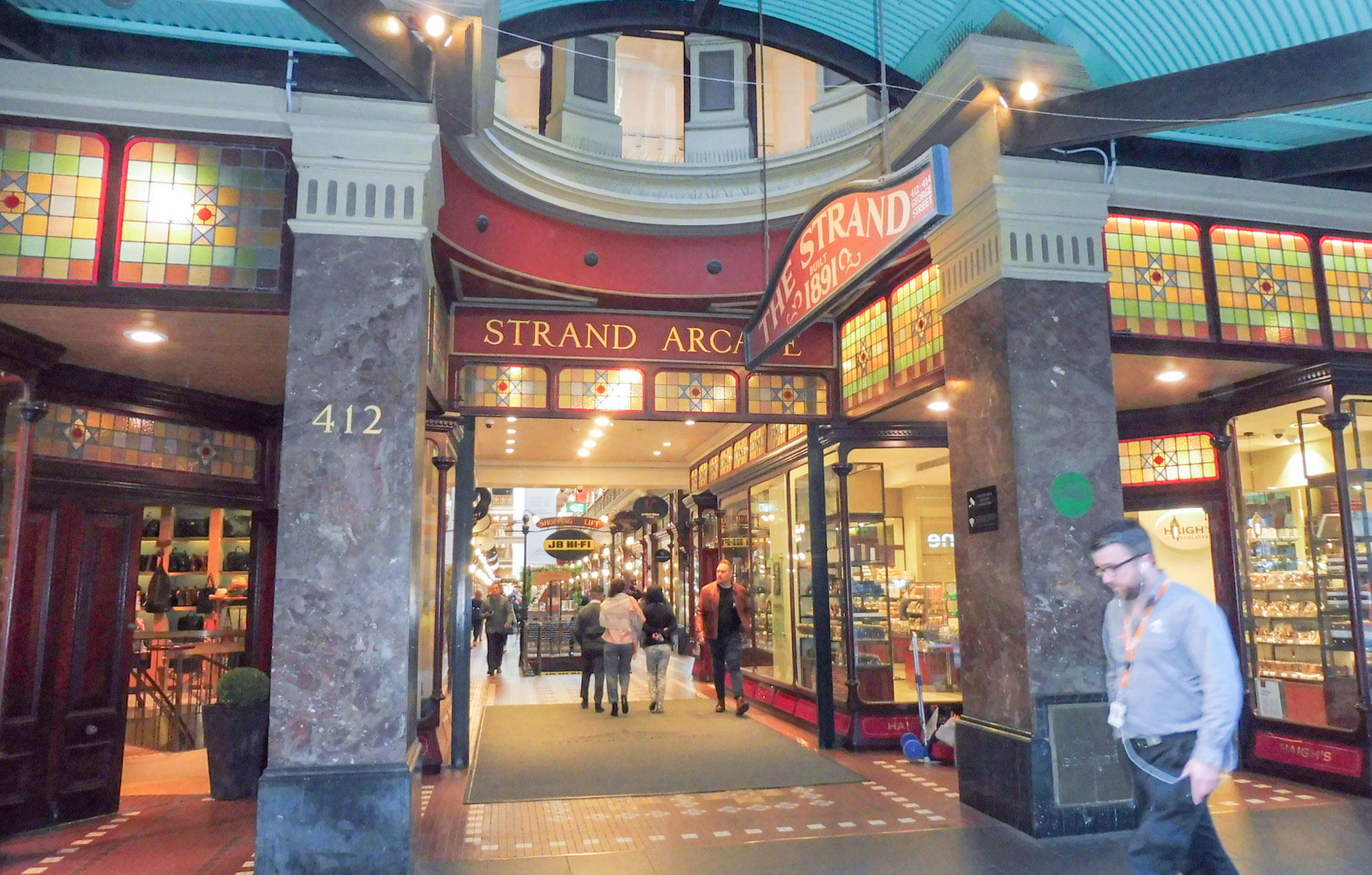 Strand arcade my favorite in Sydney