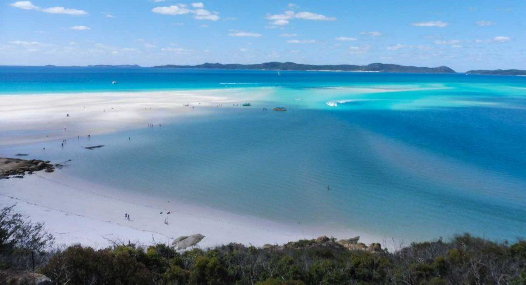 Australia Queensland - day trip in Whitsundays Islands