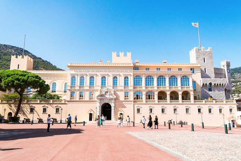 Etape au Palais princier dans mon circuit de visite de Monaco en 1 jour