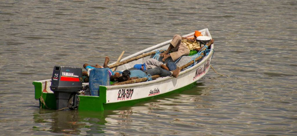 visiter Panama City - pêcheurs