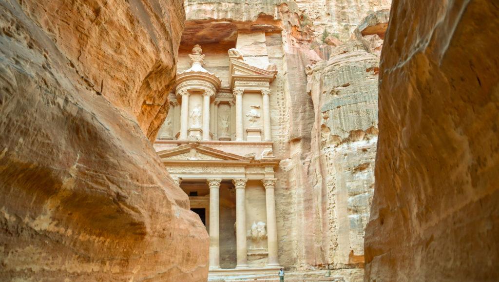 Reiserute for min 1 ukers tur i Jordan