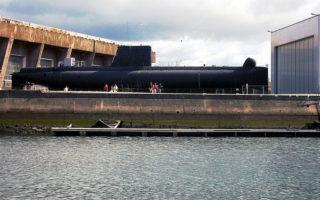 visite interactive du sous-marin Flore S645