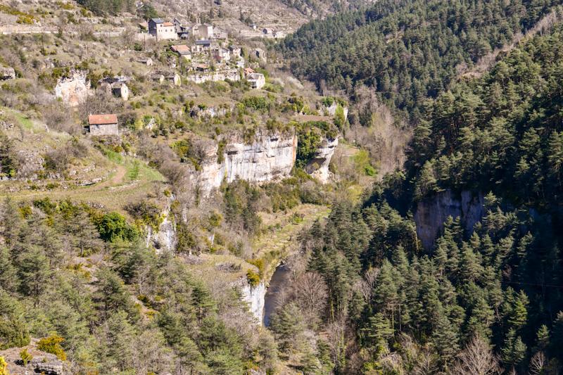 Itinéraire circuit touristique en Lozère et Aveyron