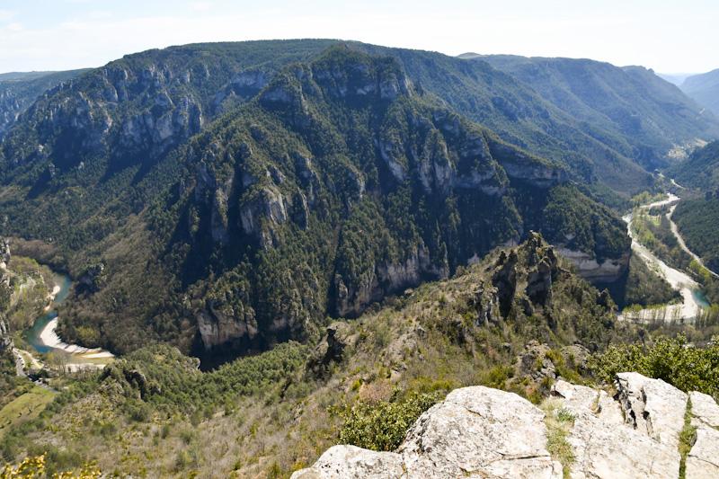Comment visiter les Gorges du Tarn itinéraire en voiture