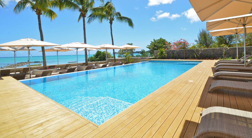 hotels pas chers ile maurice - piscine de l hotel choisy