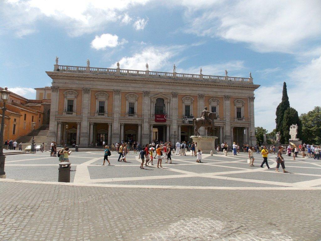capitole étape de mon circuit pour visiter Rome en 1 jour à pied