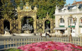 Itinéraire du city tour de Nancy
