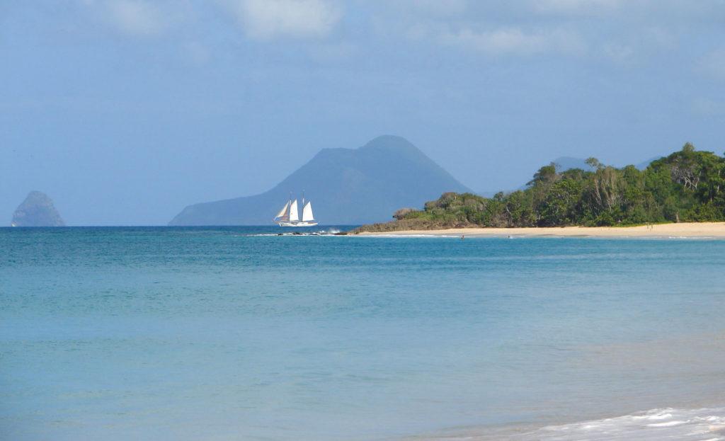 Plus belles plages de Martinique côte Sud
