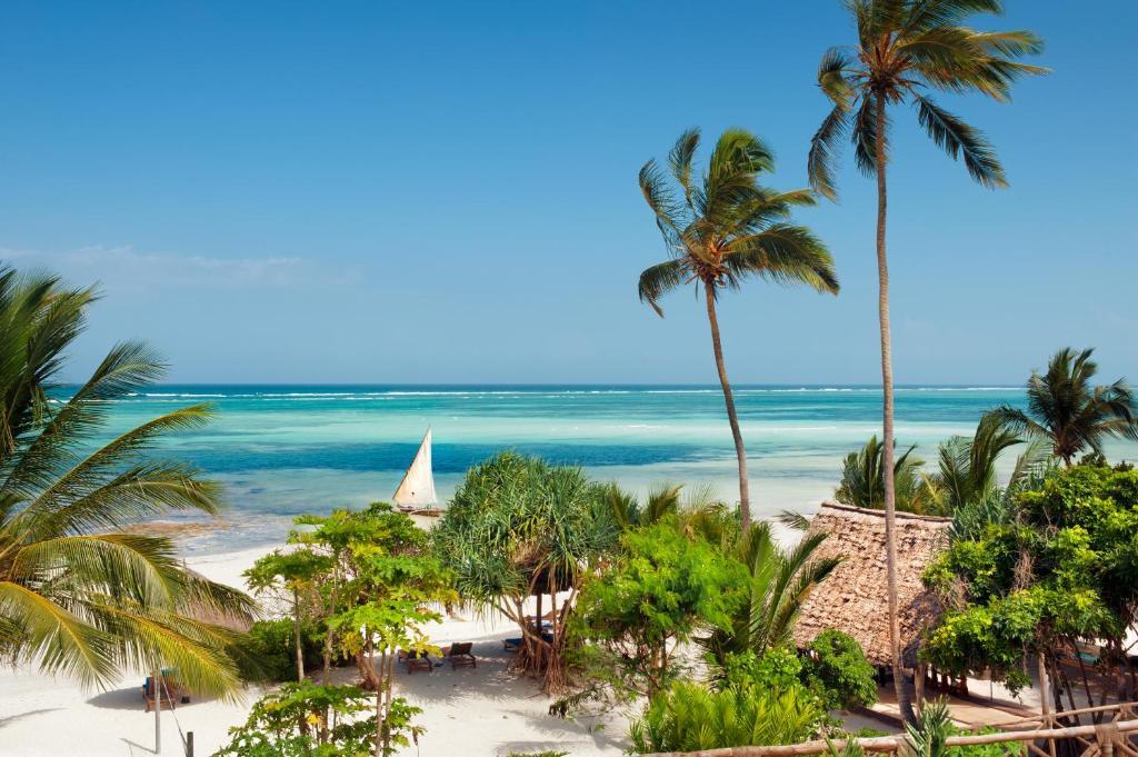 plage hotel recommandé loin des quartiers dangereux de Zanzibar