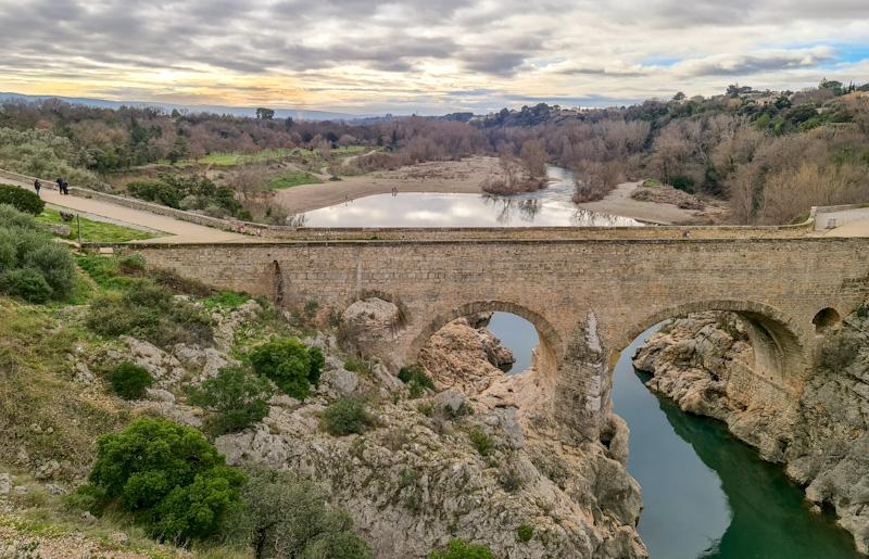 Gorges de l'Hérault avec le grand site du Pont du Diable