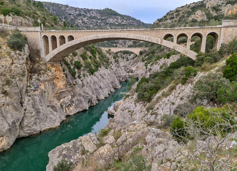Canyoning dans les Gorges de l'Hérault près de Saint Guilhem le Désert