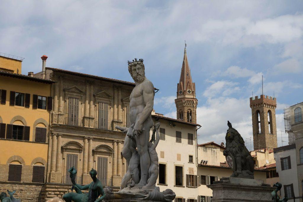 La Piazza della Signoria etapa en mi circuito de visita de florencia en 1 dia