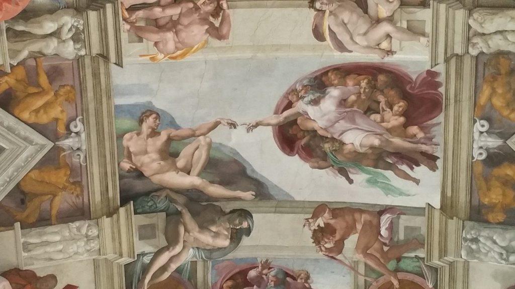 Plafond Chapelle Sixtine ROME VATICAN