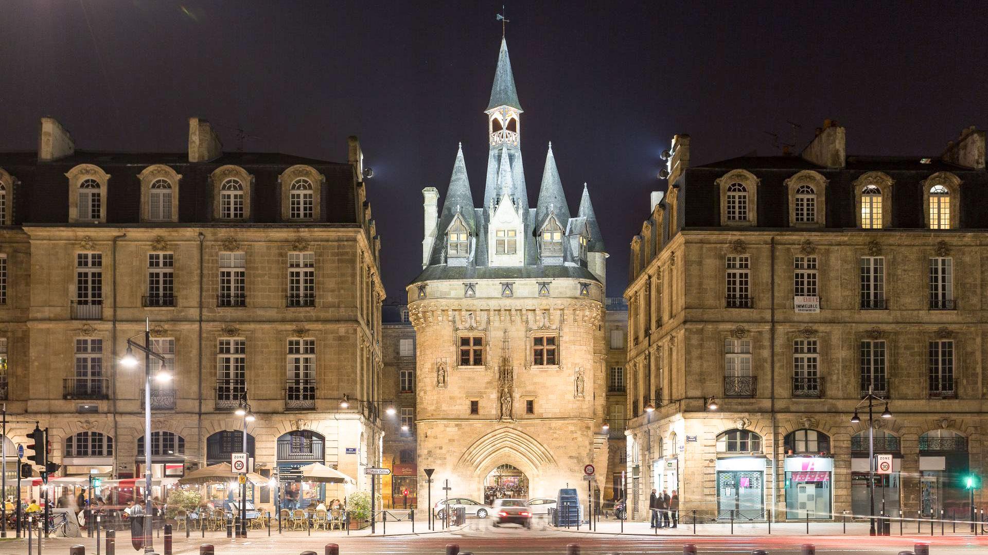 Pour finir mon circuit Bordeaux en 1 jour voici la Porte cailhot