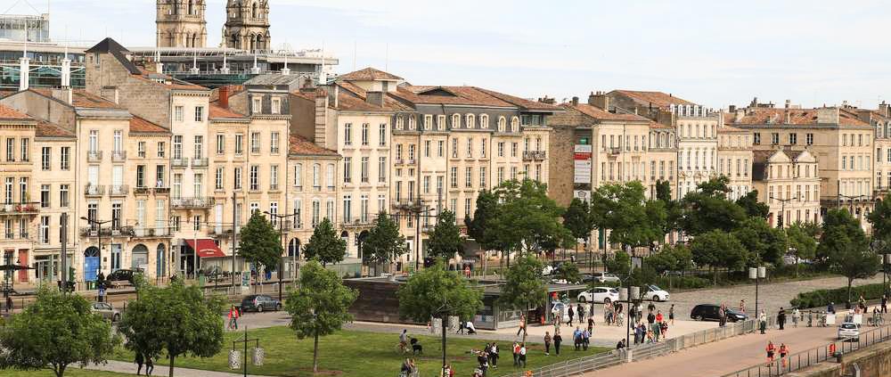 Quai des Chartrons pour mon weekend à Bordeaux