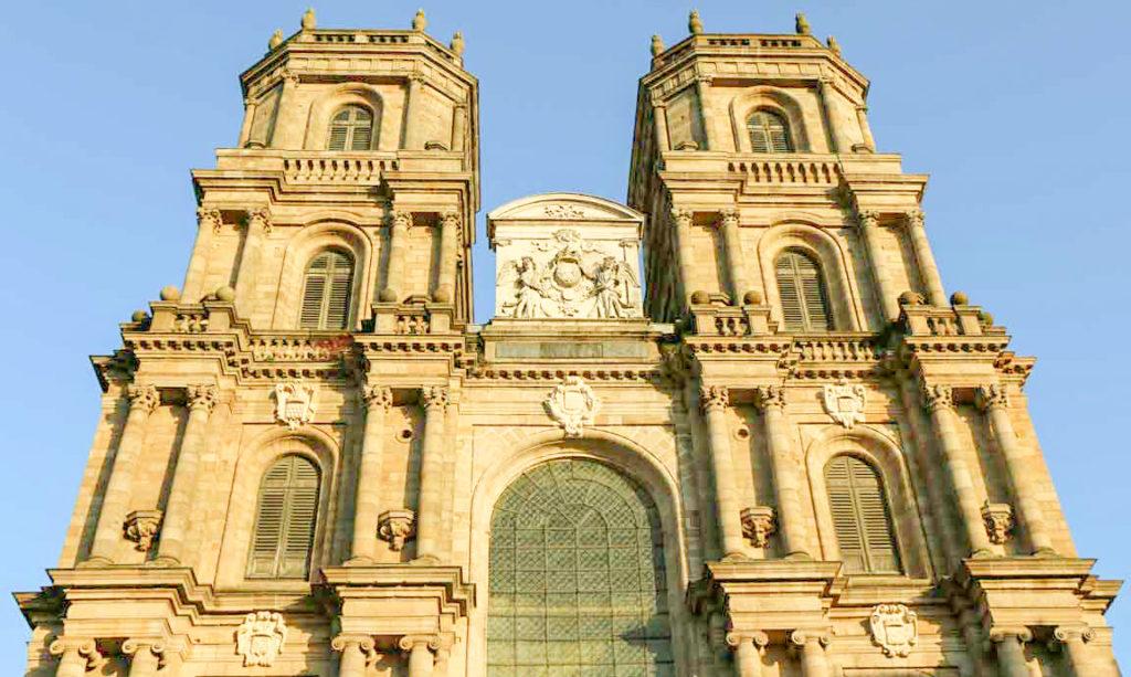 CIRCUIT RENNES EN 1 jour 1ère étape La cathédrale
