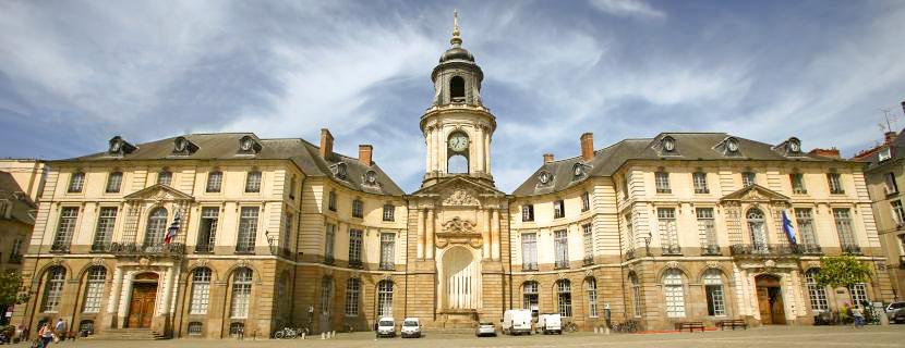 HOTEL DE VILLE et OPERA deux incontournables de la Ville de Rennes