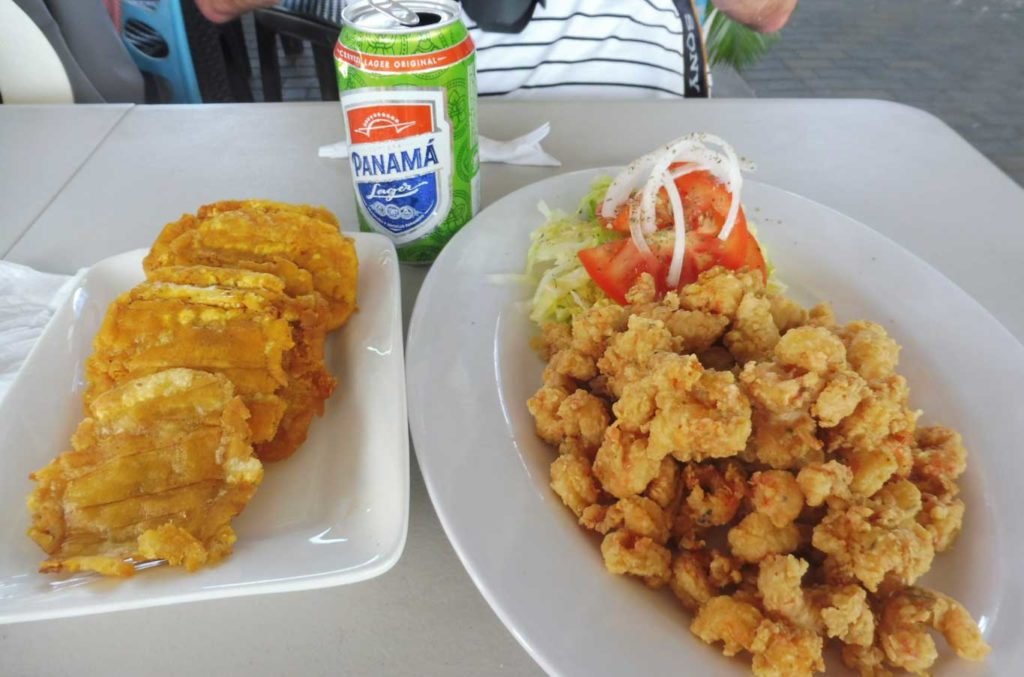 Que voir à Panama city - restaurant près du marché