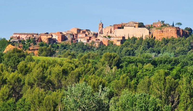 Roussillon en Luberon Provenza